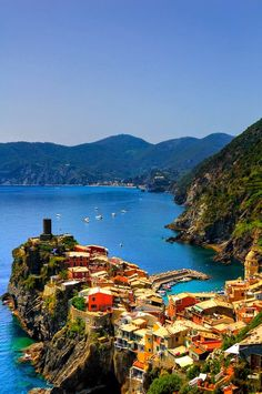 Seaside, Vernazza, Italy