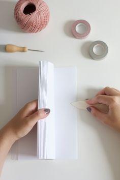 DIY: Notizhefte binden
