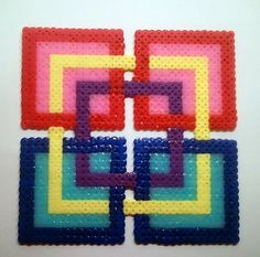 perler bead square | Flickr - Photo Sharing!