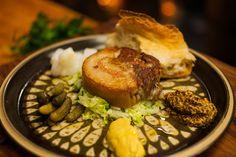 Crispy Pig's Head with Asian Slaw: http://gustotv.com/recipes/dinner/crispy-pigs-head-asian-slaw/