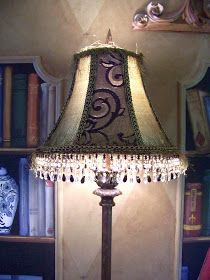 Creations from my heart: A Lampshade Transformation...