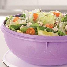 Tupperware - Salada de Folhas com Queijo Branco