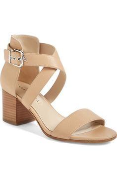 Via Spiga 'Jobina' Crisscross Strap Block Heel Sandal (Women) available at #Nordstrom
