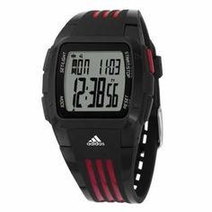 f60cfc417d4 Adidas Women s DURAMO Black Polyurethane Quartz Watch with Grey Dial
