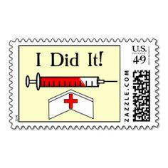 Nurse Graduation Postage Stamps http://www.zazzle.com/nurse_graduation_postage_stamps-172191089757838717?rf=238282136580680600