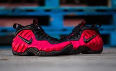 498f3a4b3ac03 Detailed Images Of The Nike Air Foamposite Pro University Red