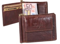7b67a44fb3700 Fine dollar clip with coin pocket fine leather money clip money clip    wallet