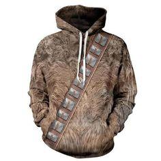 Chewie 3D Hoodie