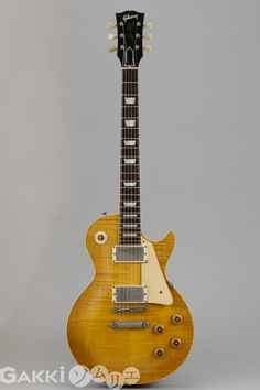 A very rare 1958 gibson explorer i love the retro bigsby in this 1959 gibson les paul standard freerunsca Images
