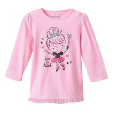 """Jumping Beans® """"Love to Twirl"""" Fairy Babydoll Tee - Baby"""