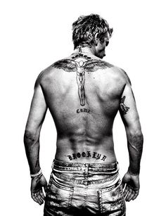 David Beckham by Platon, what is it about broad shoulders?