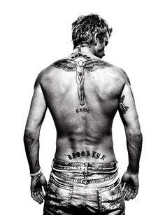David Beckham by Platon