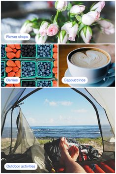 We all have an idea of a perfect day. For some, it starts with picking up blooms at a local flower shop and others it ends by relaxing in the sea breeze. Whatever experiences you have in mind, let Foursquare be your guide.