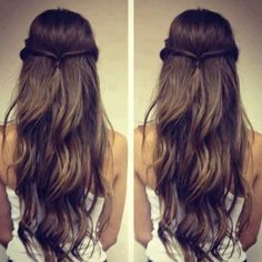 Create amazing hairstyles using extensions - Brown hair extensions