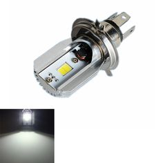eee6df7c74 16W Motorcycle LED Headlight M2S COB H4 Plug Super Bright Light Blub