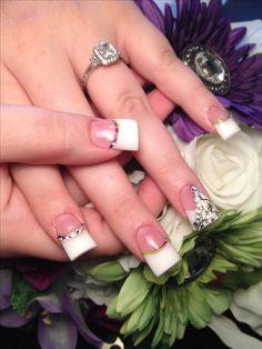 White camo wedding