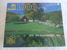 Scenic Farm Puzzle from #SassyDuckFinds