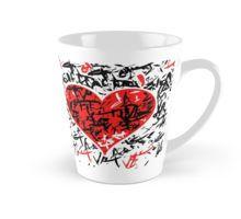 Red hart - Valentines day design Mug