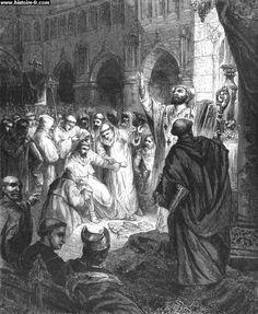 751 - Childeric, dernier roi mérovingien, est déposé ; sa barbe et ses cheveux sont rasés (il était un rex crinitus).