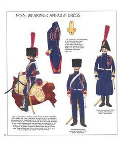 Sottufficiali dell'artiglieria cavallo della guardia imperiale francese