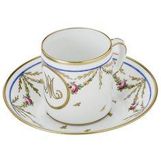 Tasse à café Marie-Antoinette