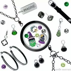 Check out the Halloween items at Origami Owl. Charms are selling out fast but will be restocked. http://pennystrupp.origamiowl.com