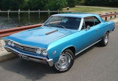 Muscle automobile - 1967 Chevelle SS