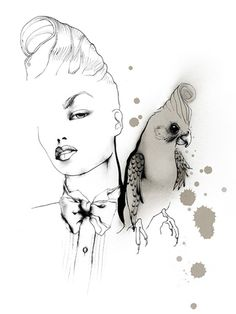 Fashion illustration // Christina Drejenstam