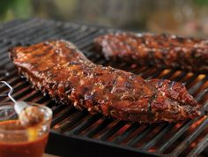 Tangy Grilled Back Ribs - Recipe Detail