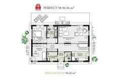 Perfect 98 - DAN-WOOD House schlüsselfertige Häuser