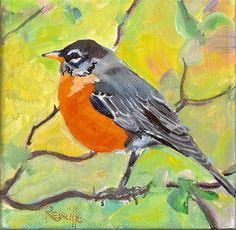 """Good Morning Beautiful/"" - Original Fine Art for Sale - © Reveille Kennedy"