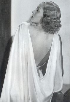 Adrienne Ames, 1930s. Love this dress.
