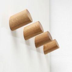 Diy Wall Hooks, Peg Wall, Peg Hooks, Wooden Wall Hooks, Wooden Coat Hangers, Door Hooks, Wooden Pegs, Wooden Bowls, Wall Hanger