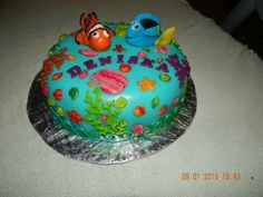 Nemo and Doris cake