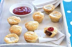 It's grand final day for the AFL today so if you're watching the game, or even if you're not, these meat pies will go down a treat!