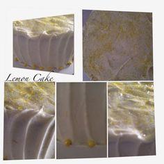 Sweet & Savory Tastings: Lemon Cake with Lemon Curd Filling & Lemon Cream C...