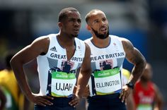 James Ellington and Chijindu Ujah of Great  woo lawdy. Vindicated anglophilia.