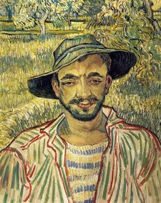 Vincent van Gogh: Young Peasant, 1890