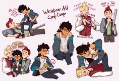 Image result for camp camp fanart