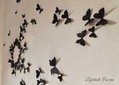 Amazing DIY Gossip Girl Schmetterling Deko