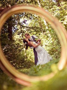 Wedding Photo Idea #titaniumjewelry #ringshot #wedding #bridal