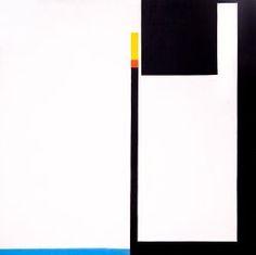 Bruno Minari - negativo-positivo 1951 cm 32x32  coll. priv. new york