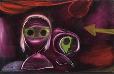Schicksal zweier Schwestern von Paul Klee 1922