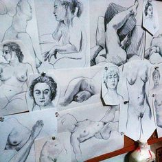 Life Drawing Compilation by Robert Edwards