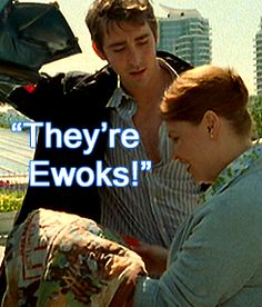 """His incomprehension about her lack of Star Wars knowledge is just amazing. Lee Pace in """"Wonderfalls"""""""