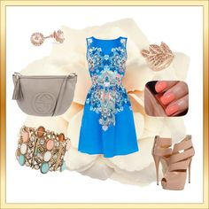 """""""My summer brunch outfit!"""" by rawjoyner on Polyvore"""