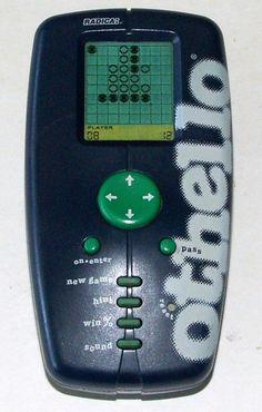 Radica Othello 1999 Hand Held Game #Radica