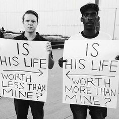 Police Abuse and Police Brutality - black lives matter We Are The World, In This World, Yovanna Ventura, Racial Equality, Protest Signs, Protest Art, Ted, Power To The People, Faith In Humanity