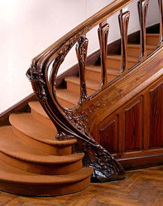 41 Trendy ideas for stairs design interior art nouveau