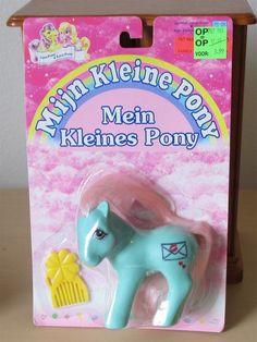 Generation One G1 vintage 1980's My Little Pony Mijn Kleine Pony Mein Kleines Pony Love-Pony by seller twentypercentcooler. #mlpmib #mylittlepony #g1mlp